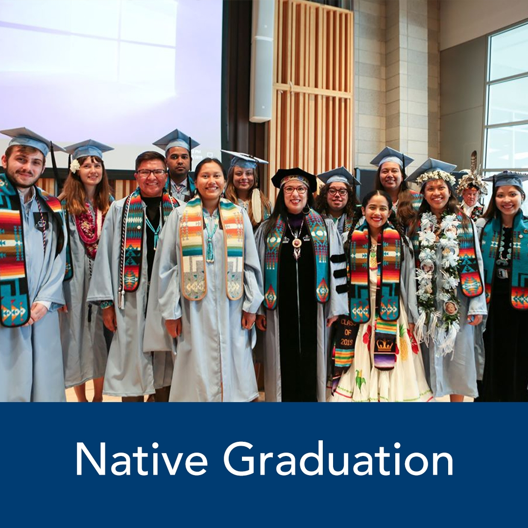 Multicultural Affairs Native Graduation Ceremony
