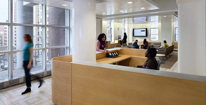 Berick Center for Student Advising Lobby
