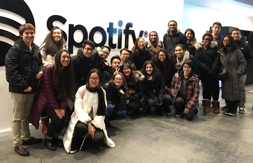 2017 JADE Participants at Spotify