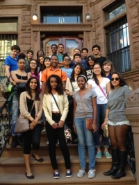 Scholars exploring Harlem for the CJS