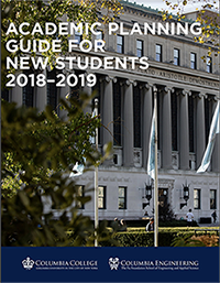 Cover of the Academic Planning Guide