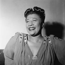 Portrait of Ella Fitzgerald in 1946